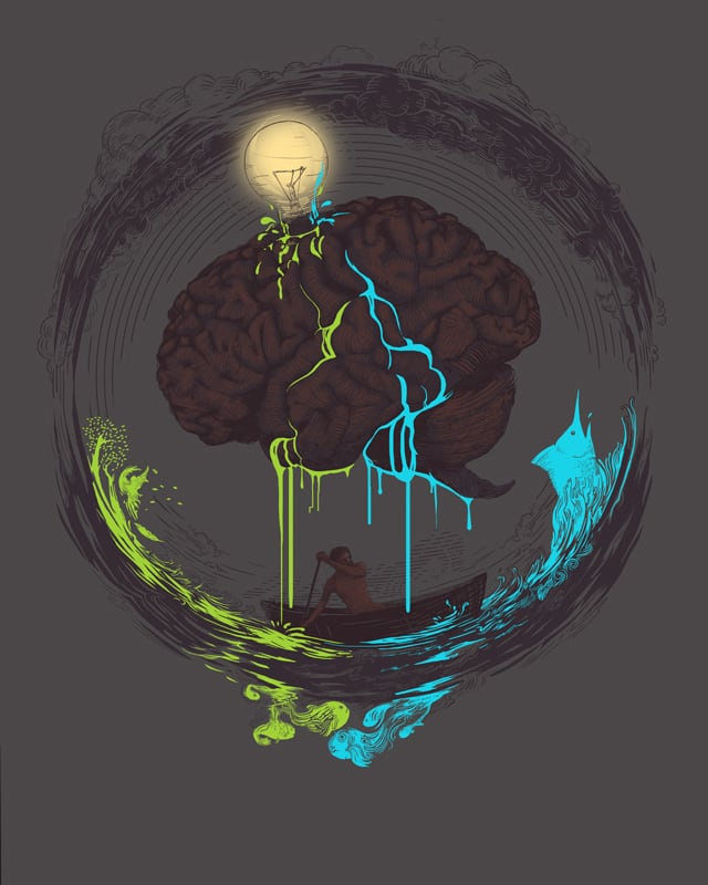 The Old Man and the Sea by hellojune on Threadless