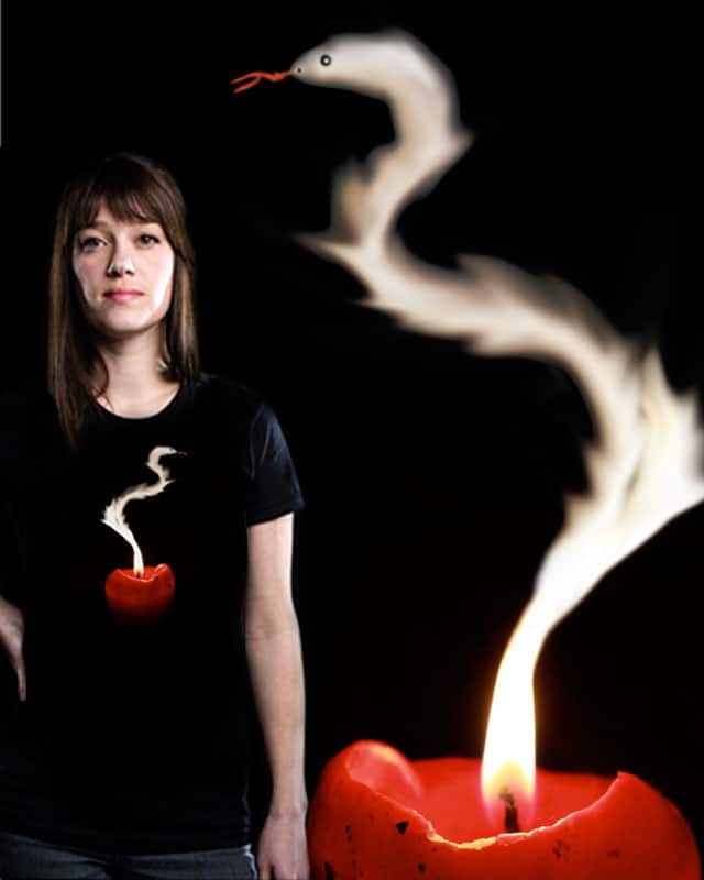 Burning Candle by ArTrOcItY on Threadless
