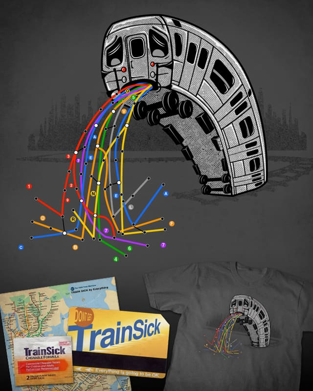 Train Sick by everything on Threadless