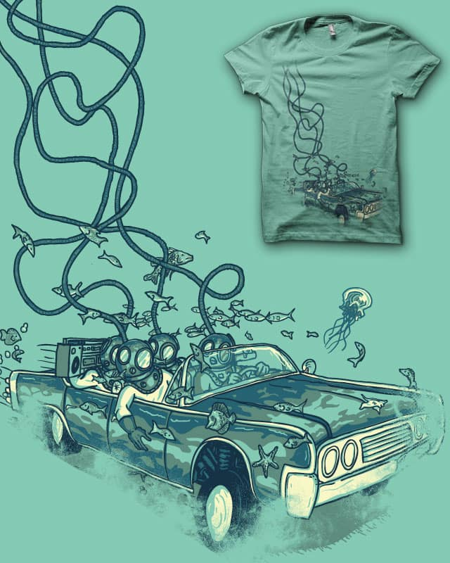 Rolling Deep v2 by biotwist on Threadless
