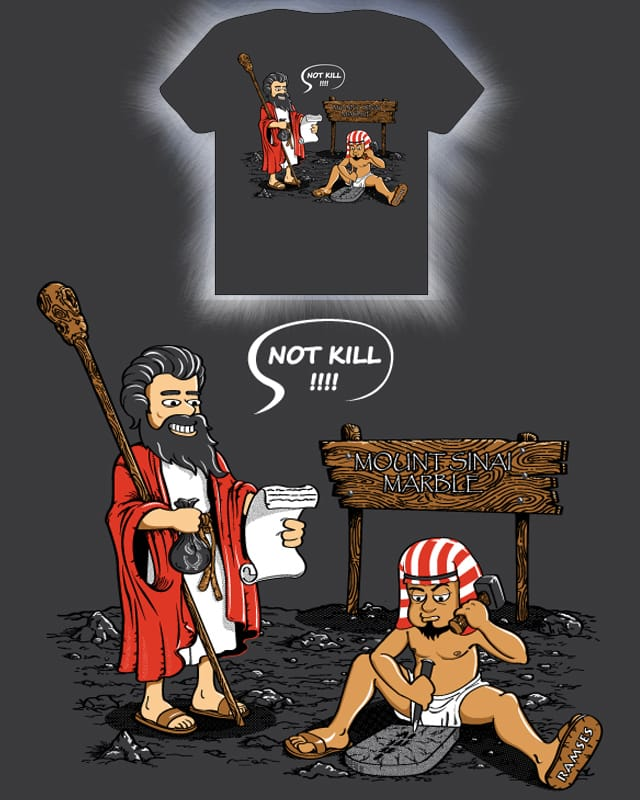 Biblical History X by Tony Centeno on Threadless