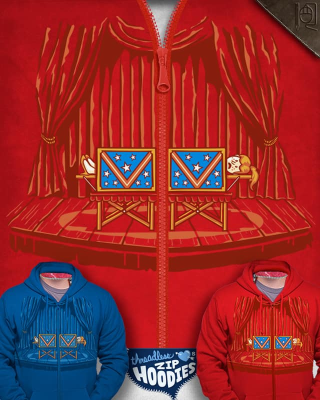 Magic Zip Hoodie by rodrigobhz on Threadless