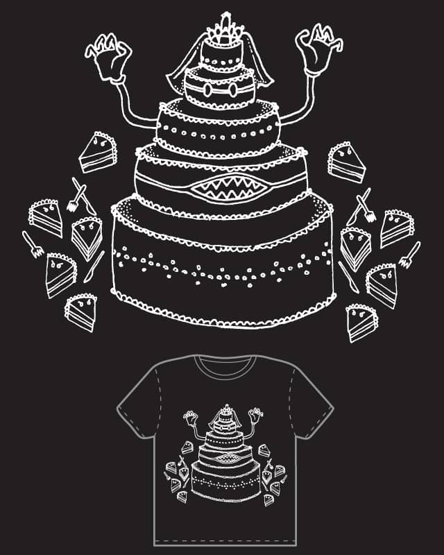 Attack of the Killer Wedding Cake by spacestarfish on Threadless