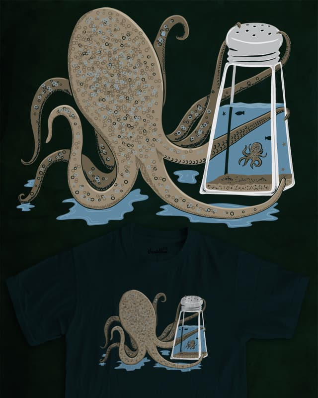 Sea Salt by artulo on Threadless