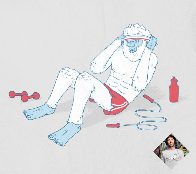 Abdominable Snowman by tenso on Threadless
