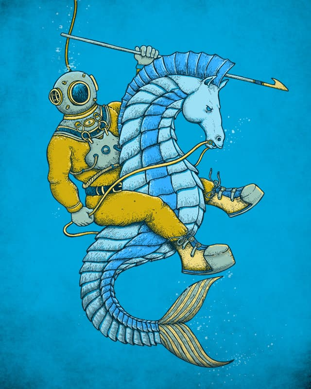 Deep Sea Hunting by alvarejo on Threadless