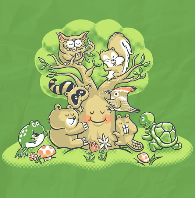 Group Hug by herky on Threadless