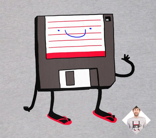 Flip-floppy by tenso on Threadless