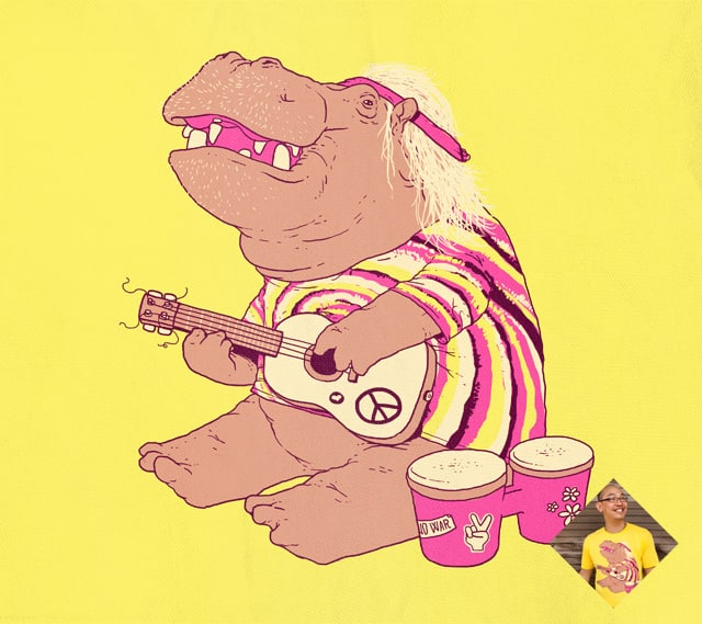 Hippie-o by tenso on Threadless