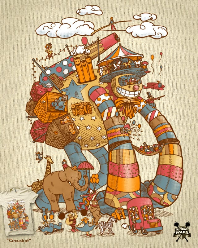Circusbot by nickv47 on Threadless