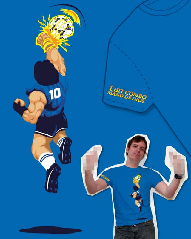 Maradona Combo Hit: Hand of God by M o c o on Threadless