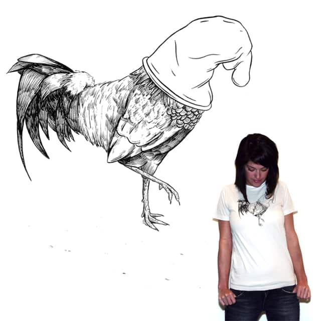 Cautious Cock by KnamK on Threadless