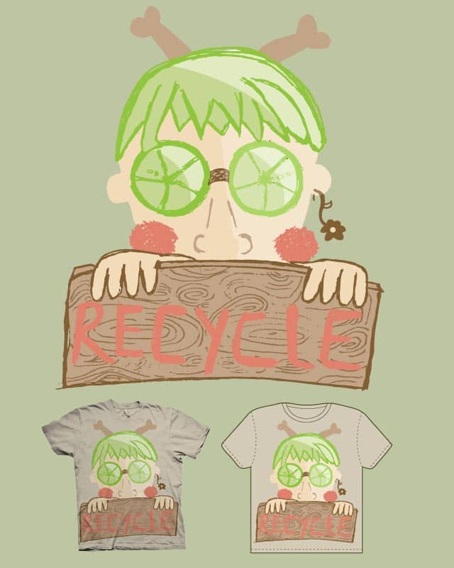 The recycler by Le Utopie on Threadless