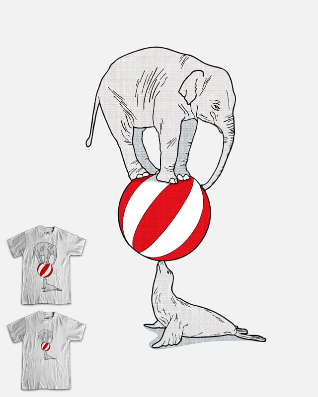 Balancing Act by davidfromdallas on Threadless