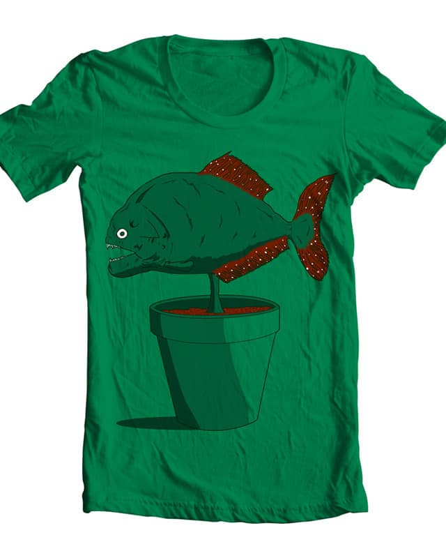 Piranha Plant by Resistance on Threadless