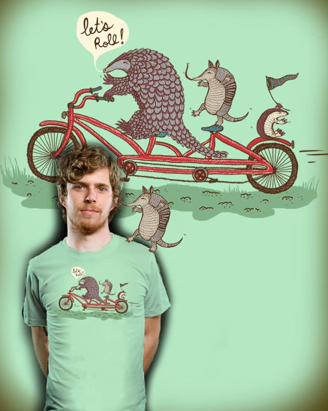 Rollin' Pangolins! by nicholelillian on Threadless
