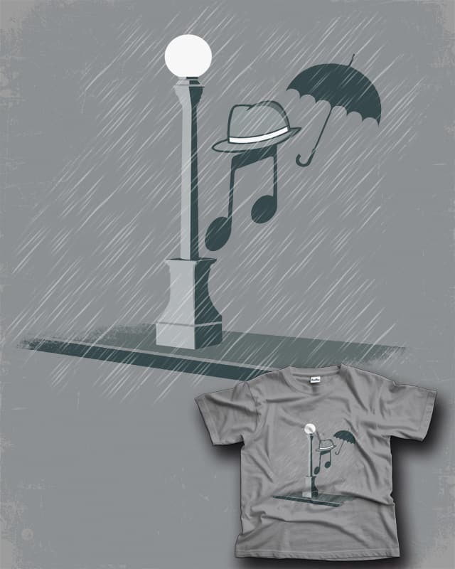 Singing In The Rain by Red Rafael on Threadless