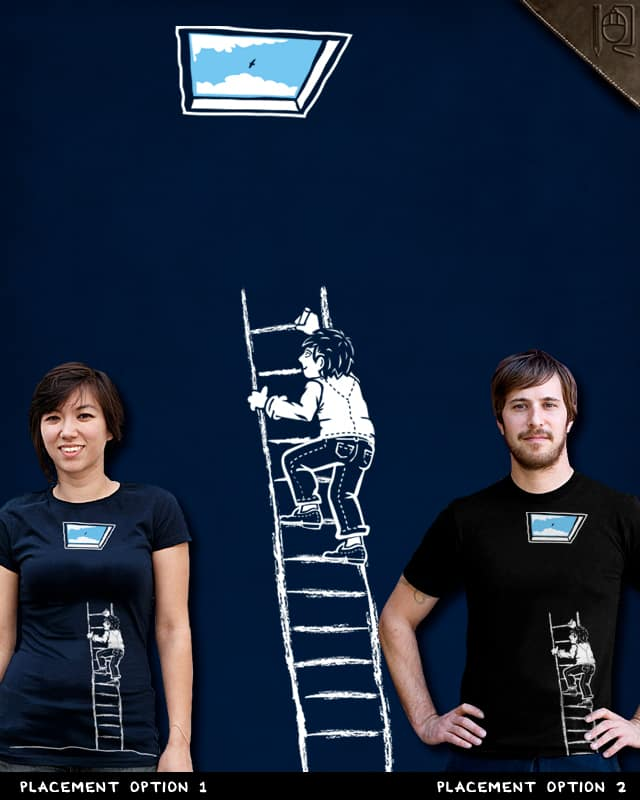Draw your way out by rodrigobhz on Threadless