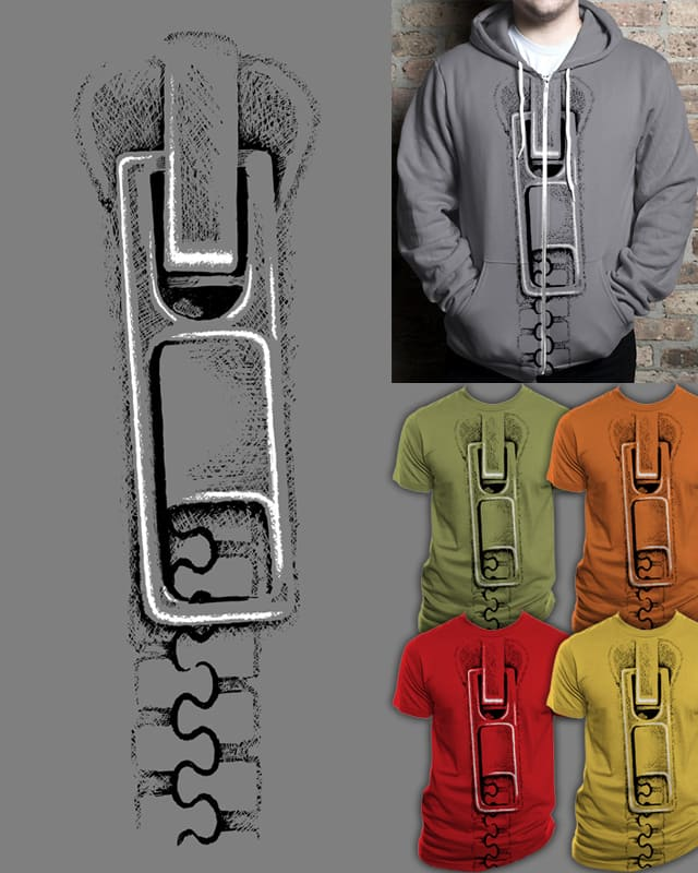 The Zippiest Zipper by EN AJUSTES on Threadless