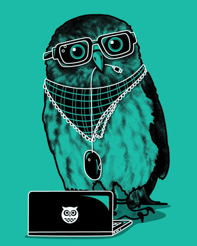 Owl by Recycledwax on Threadless