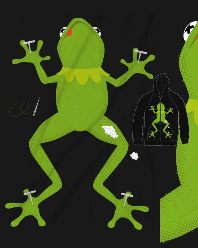 It´s not easy being green by D-maker on Threadless