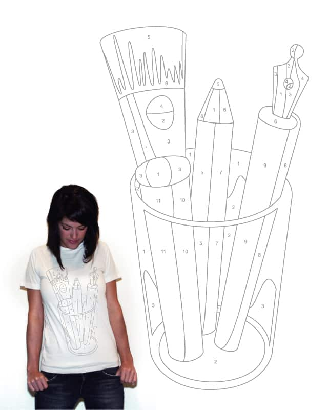 MS Paint By Numbers by NGee on Threadless