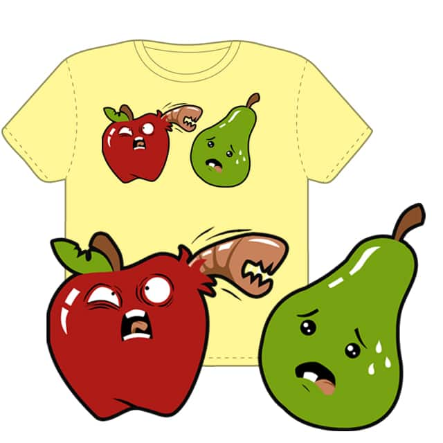 Doomed Fruits by sponzar on Threadless