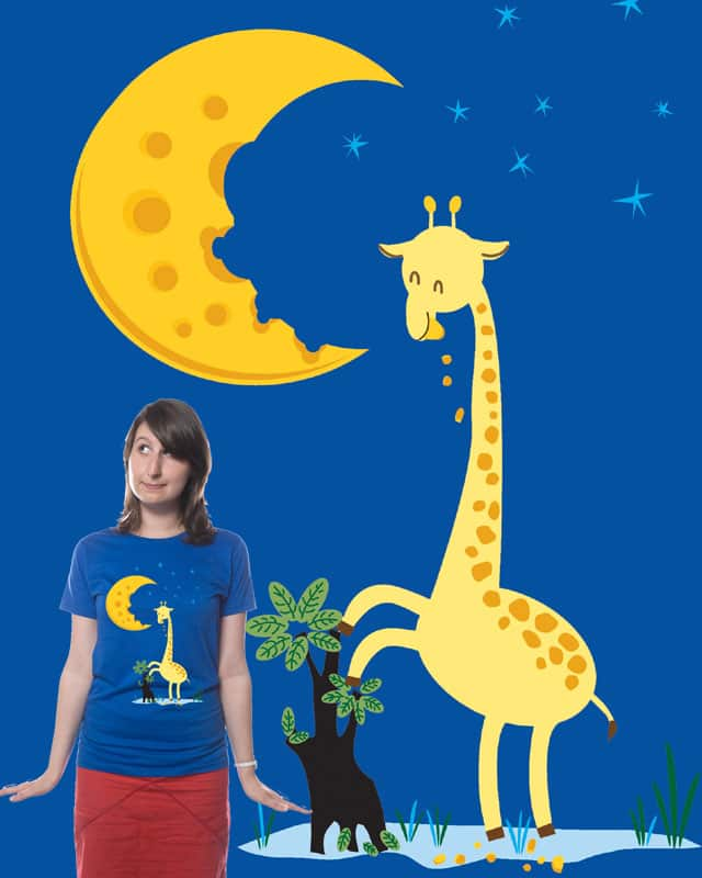 The Delicious Moon Cheese by Mrcoffeebean on Threadless