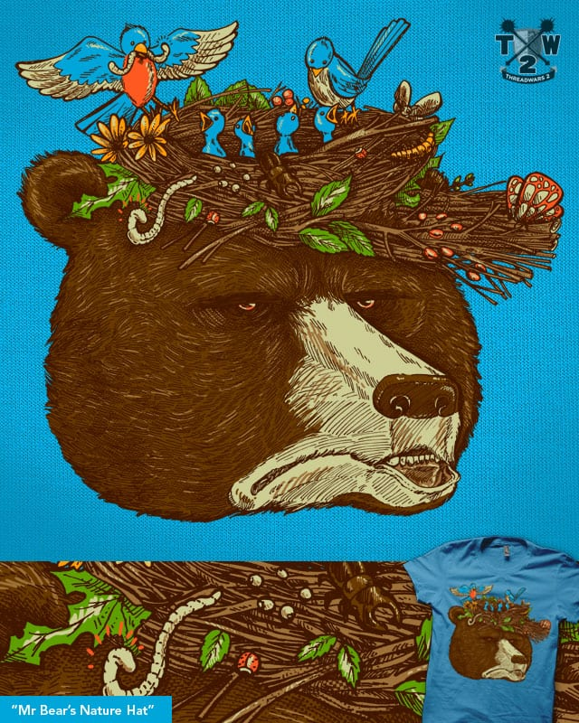 Mr Bear's Nature Hat by nickv47 on Threadless