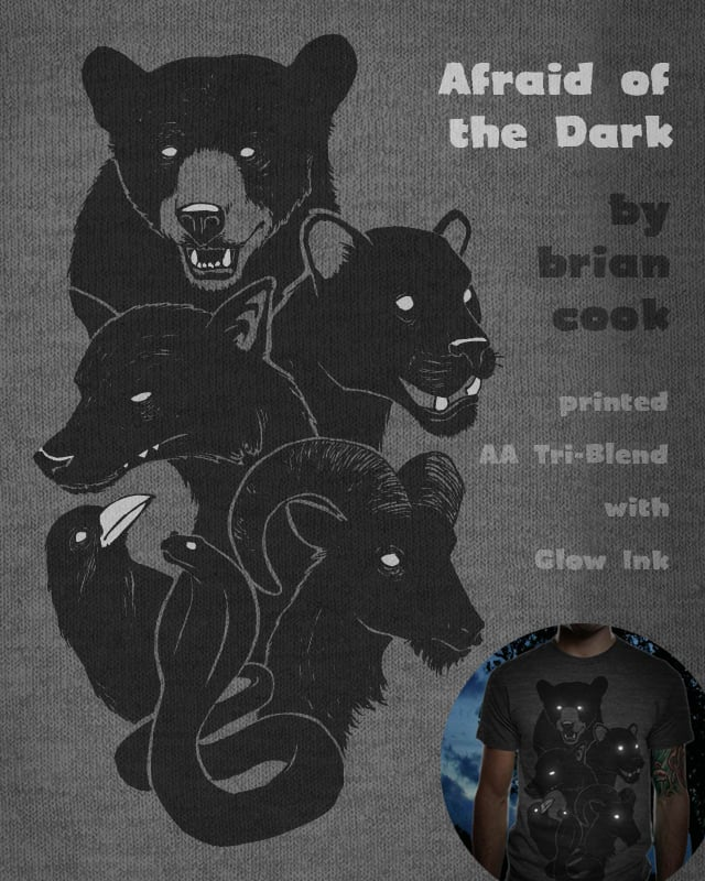 Afraid of the Dark by briancook on Threadless