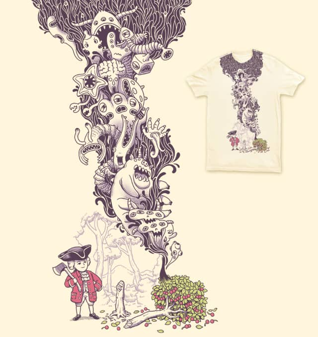 The Secret Of Cherry tree by ben chen on Threadless