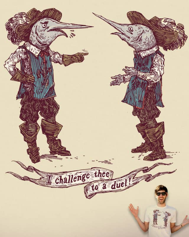 Art thou a coward? by Robsoul on Threadless