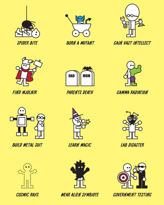 How To Become Super by Haragos on Threadless