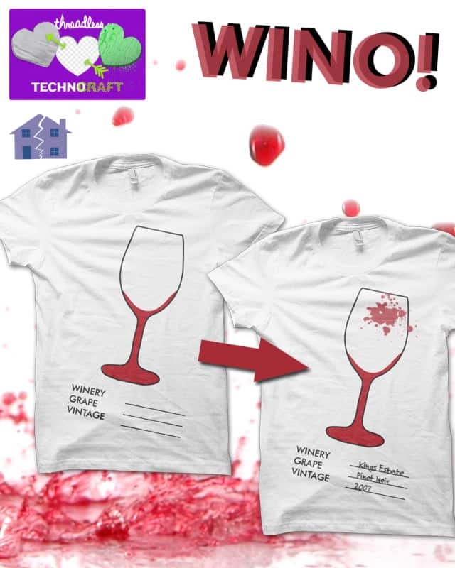 WINO by craquehaus on Threadless