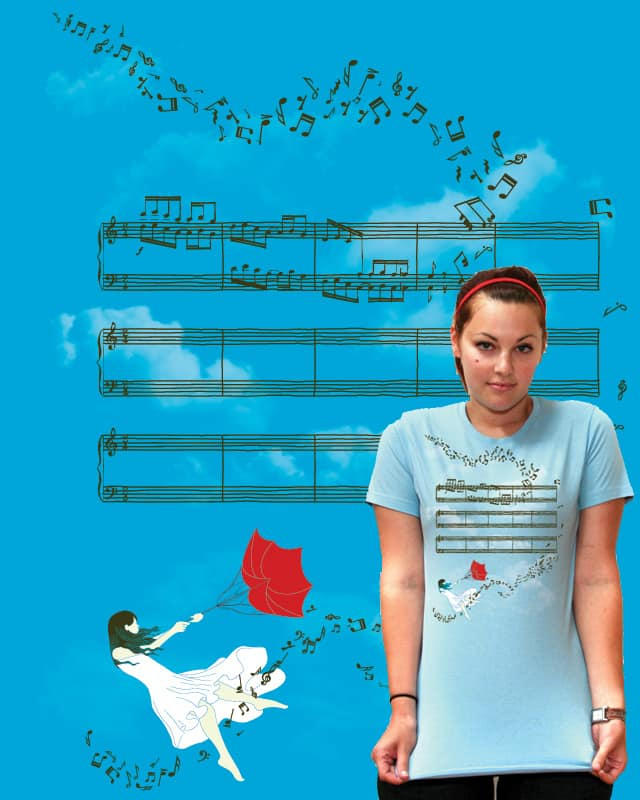 With the Wind by jumppuppyjump on Threadless