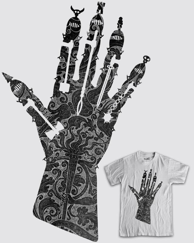 Gauntlet by isawa on Threadless