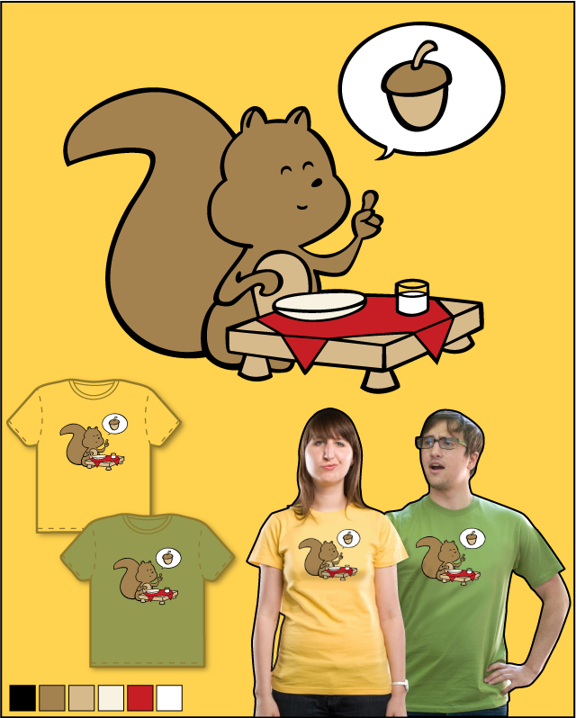 Nuts, please! by Goto75 on Threadless