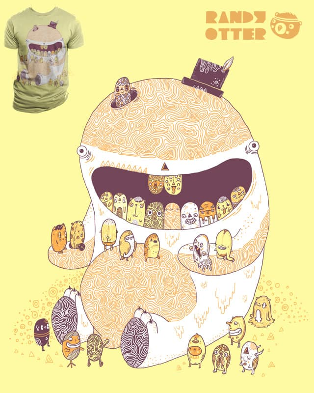 A new set of teeth by randyotter3000 on Threadless