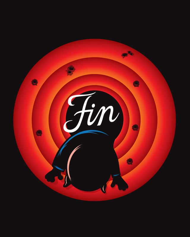 That's All Folks! by dschwen on Threadless