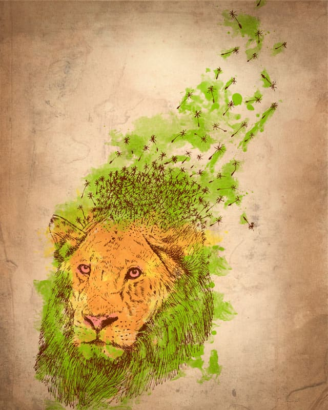 done the lion by kooky love on Threadless