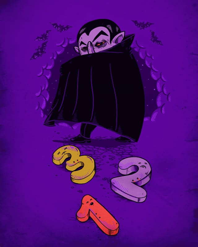 The Count by alexmdc on Threadless