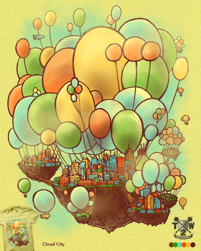 Cloud City by nickv47 on Threadless