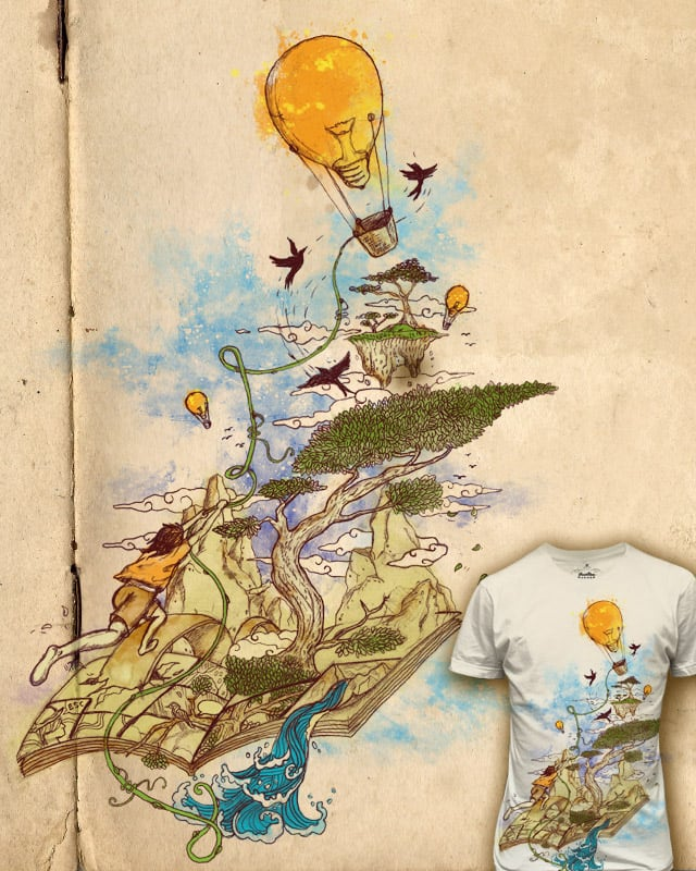 poetry of reality by mootova on Threadless