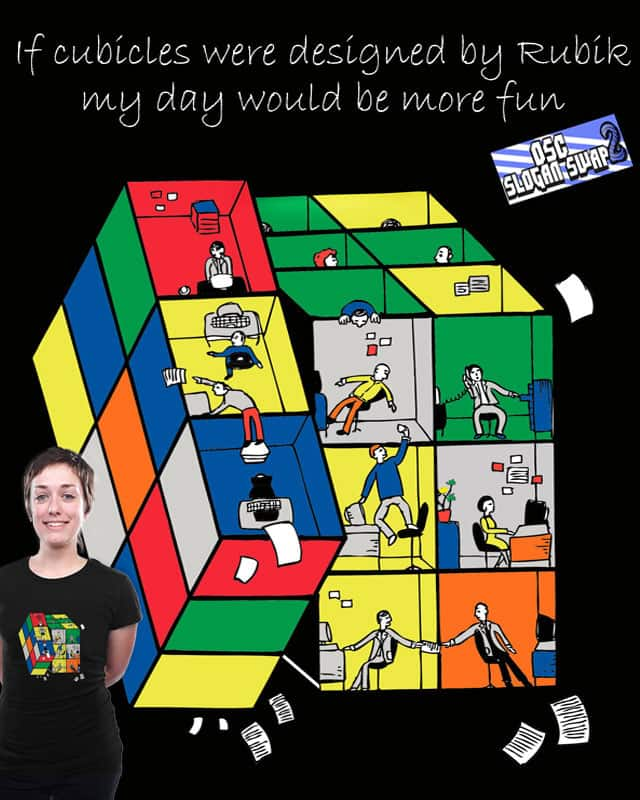 Rubik's Cubicles by ArTrOcItY on Threadless