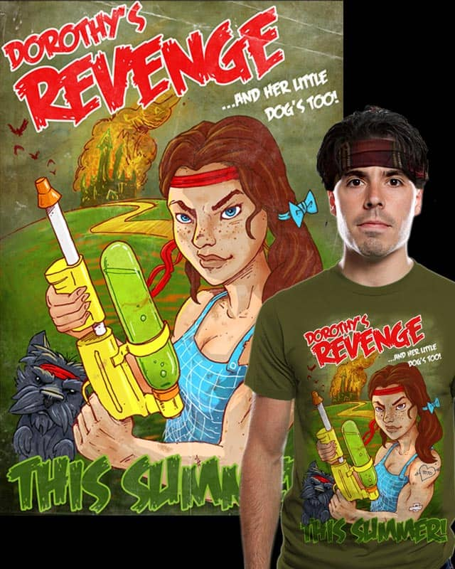 Dorothy's Revenge by briancook on Threadless
