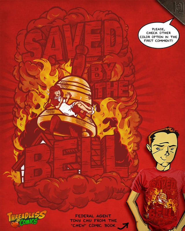 Saved by the bell by rodrigobhz on Threadless