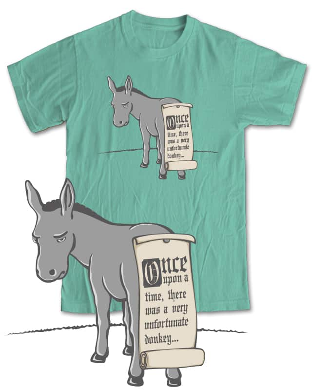 Pinning the tale on the donkey by NGee on Threadless