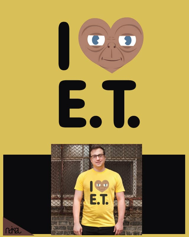 i love E.T. by ndikol on Threadless