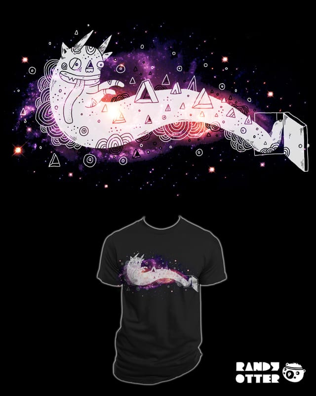 You're letting the space out by randyotter3000 on Threadless