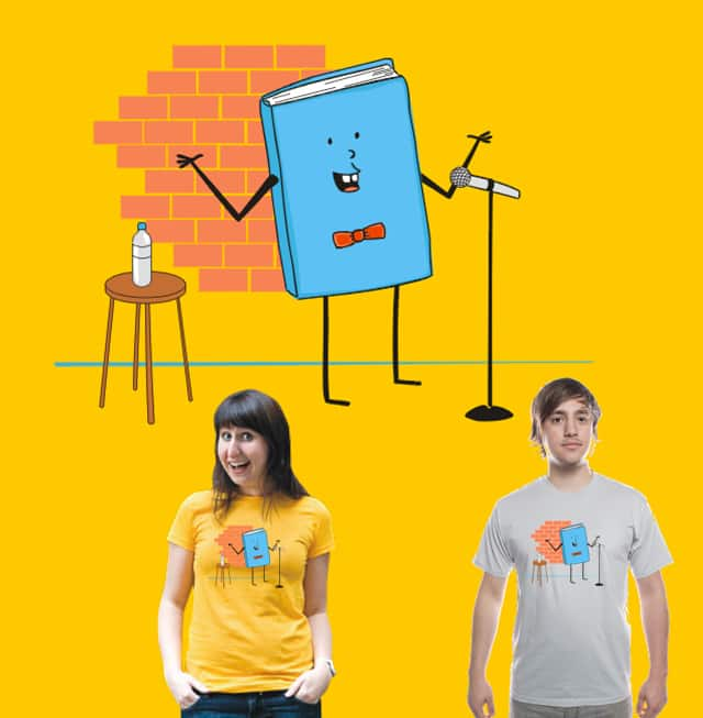 What's the deal with comic books? by Bio-bot 9000 on Threadless
